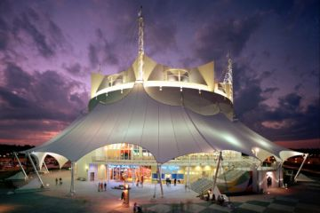 Orlando Cirque du Soleil La Nouba Theater at Night large