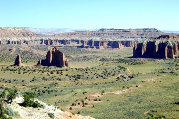 Capitol Reef Cathedral Valley Overlook