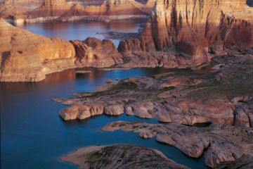 Lake Powell Scenic Sunset